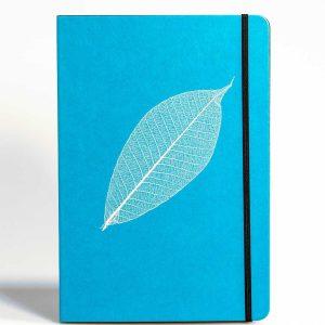 PureBooks. Skelettblatt Blau