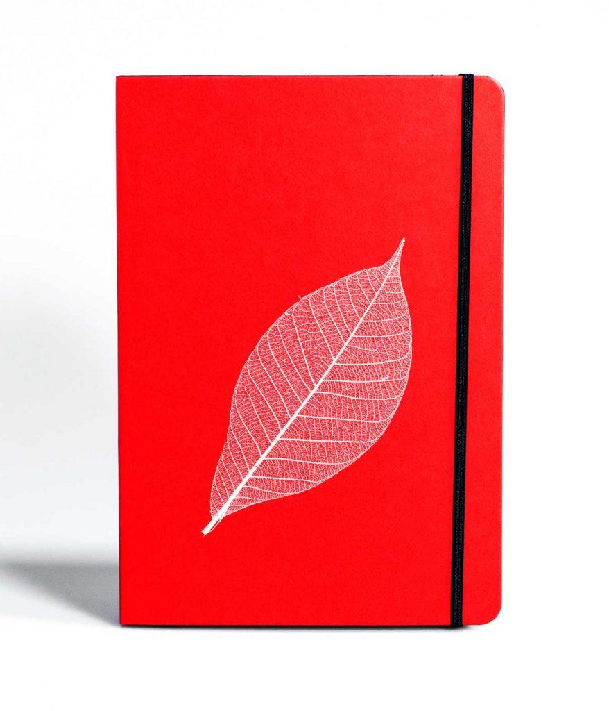 PureBooks. Skelettblatt Rot.